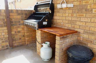 BBQ Area at Royal Palms Motor Inn - Coffs Harbour NSW.