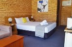 Deluxe Queen Room at Royal Palms Motor Inn - Coffs Harbour NSW.